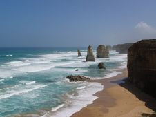 Free Twelve Apostles Of The Great Ocean Road Stock Images - 6161344