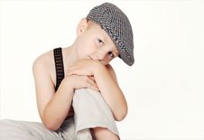 Free Portrait Of Little Boy Royalty Free Stock Image - 6161806