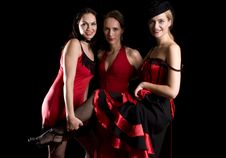 Free Three Cabaret Stock Photography - 6161872