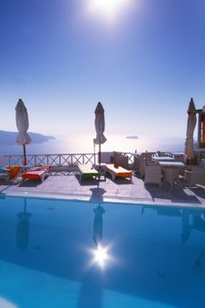 Free Hotel On Island Royalty Free Stock Image - 6161886