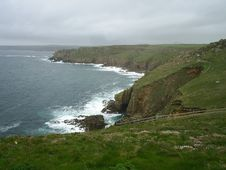 Free Cornish Coastline Royalty Free Stock Photo - 6162005