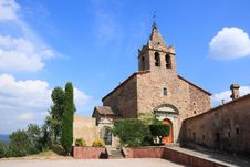 Free Santa Maria De Sau Romanic Church Royalty Free Stock Image - 6162226