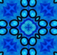 Free Black And Blue Tile Pattern Background 3 Stock Photo - 6162340