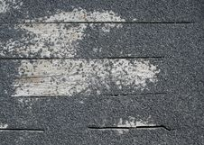 Rock Texture On Wooden Slat Royalty Free Stock Photos