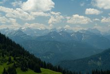 Free Valleys In The Alps Stock Images - 6162544