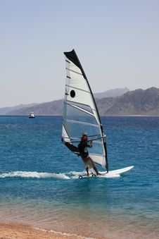 Free Camera-man-windsurfer. Royalty Free Stock Images - 6162589