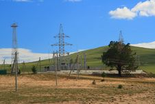 Electric Station Royalty Free Stock Photo