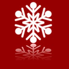 Free Beautiful Luminous Snowflake. Stock Photo - 6163240