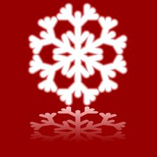 Free Beautiful Luminous Snowflake. Stock Photography - 6163252
