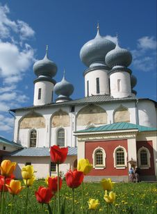 Free The Tikchvin Monastery. Stock Photos - 6163253