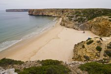 Free Virgin Breach In The Algarve Stock Photography - 6163262