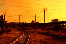 Free Iron And Steel Metallurgical Plant Royalty Free Stock Image - 6163566