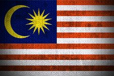 Free Grunge Flag Of Malaysia Stock Images - 6163574