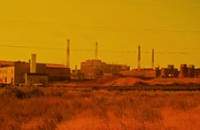 Free Iron And Steel Metallurgical Plant Stock Photos - 6163653