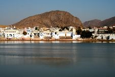 Free Pushkar Lake Royalty Free Stock Photography - 6164457
