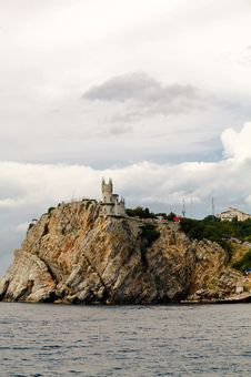 Free Castle On Big Cliff Stock Photo - 6164530