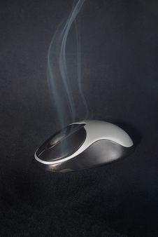 Free Overheated Mouse, Time To Stop Working Stock Photo - 6164550