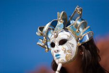 Free Sexy Girl With Carnival Mask Royalty Free Stock Photography - 6165007