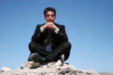 Free Businessman In Dark Suit Royalty Free Stock Photos - 6165348