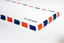 By Air Mail Stock Image