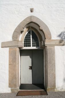 Free Medieval Church Door Royalty Free Stock Photos - 6165888