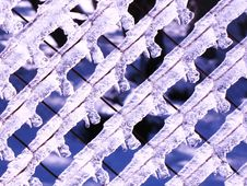Free Ice On The Fence Stock Photos - 6165893
