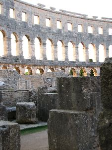 Free Colosseum In Pula, Croatia Royalty Free Stock Photo - 6166115