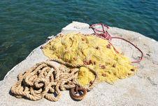 Free Fishing Cordage Royalty Free Stock Images - 6166399