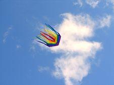 Free The Rainbow Kite Royalty Free Stock Photography - 6166537