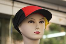 Free Mannequin With Hat Stock Image - 6166601