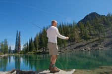 Free Fly Fisherman Stock Images - 6166884