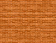 Free Orange Brick Background Royalty Free Stock Image - 6166926