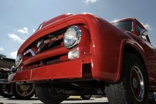 Free Classic Red Truck Stock Image - 6167581