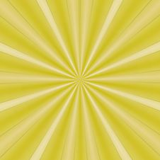 Free Rays Of Yellow Design Stock Images - 6168104