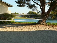 Free Beach Volleyball Court Royalty Free Stock Photo - 6168955