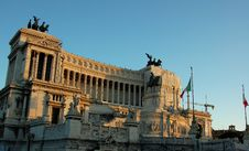 Free Victor Emmanuel Monument Stock Photo - 6169130