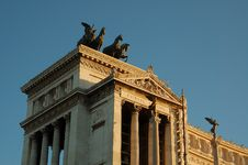 Free Victor Emmanuel Monument 2 Royalty Free Stock Image - 6169136