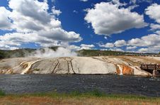 Free Midway Geyser Basin In Yellowstone Stock Images - 6169184