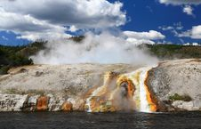Free Midway Geyser Basin In Yellowstone Stock Image - 6169191