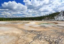 Free Midway Geyser Basin In Yellowstone Stock Photo - 6169200