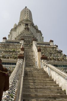 Free Wat Arun Temple. Stock Photo - 6169260