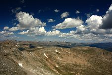 View From Mt. Evans Stock Photography