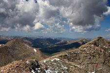 View From Mt. Evans Royalty Free Stock Photos
