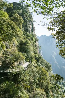 Free Sanqingshan Mountain Scenery Stock Photography - 61676602