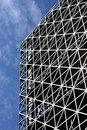 Free Abstract Metallic Building And Blue Sky Stock Image - 6173761