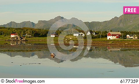 Free Lofoten  Summer Night Royalty Free Stock Images - 6177359
