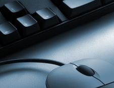 Free Mouse And Keyboard Stock Photography - 6170152