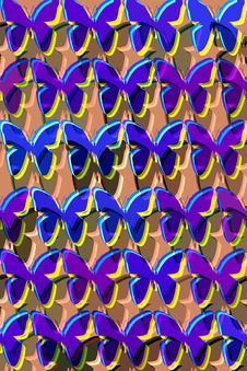 Free Pattern With Butterflies Stock Image - 6170221