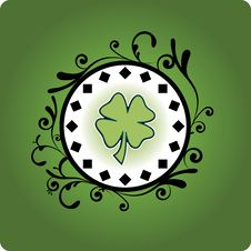 Free Green Clover Royalty Free Stock Images - 6170289