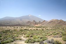 Free Teide Panoramic Royalty Free Stock Photos - 6170498